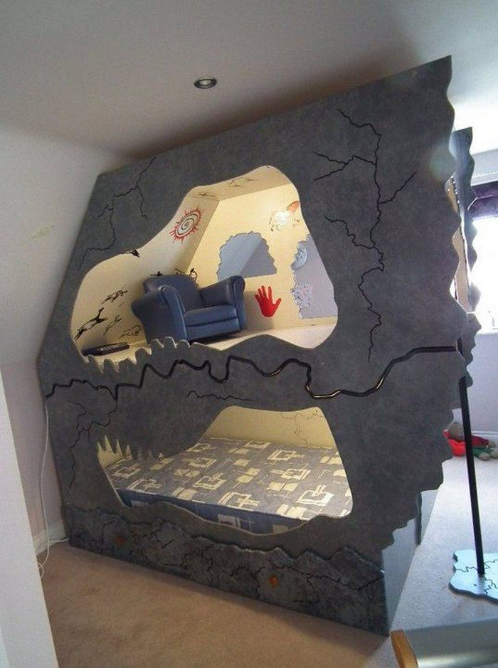 Dinosaur Cave Bed