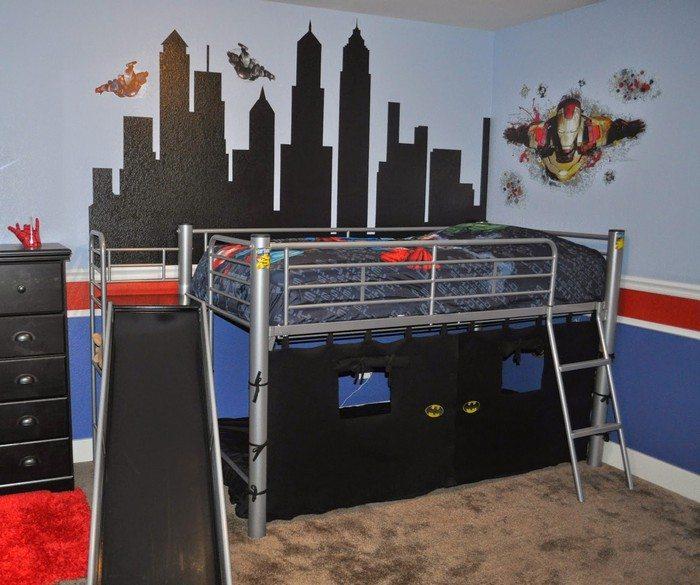 Superhero Bed