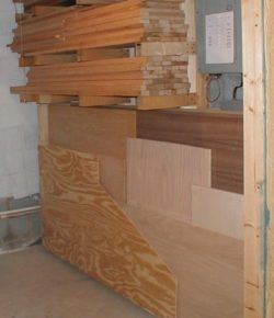Lumber Storage Ideas