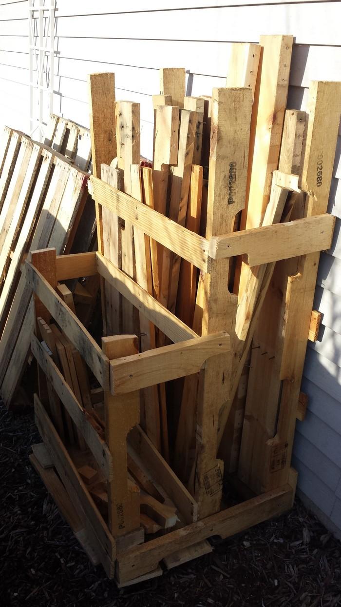 Lumber Storage Ideas Build your own portable