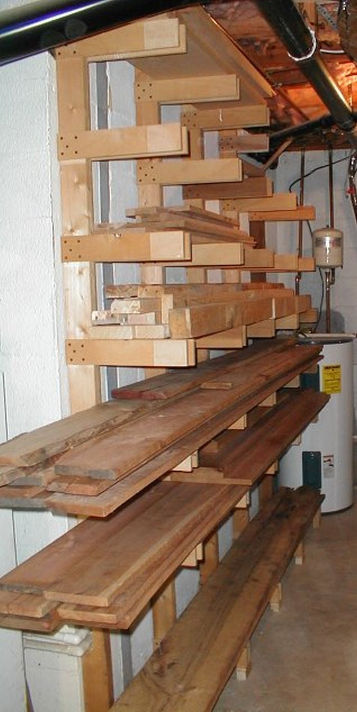 Exceptionnel Lumber Storage Ideas