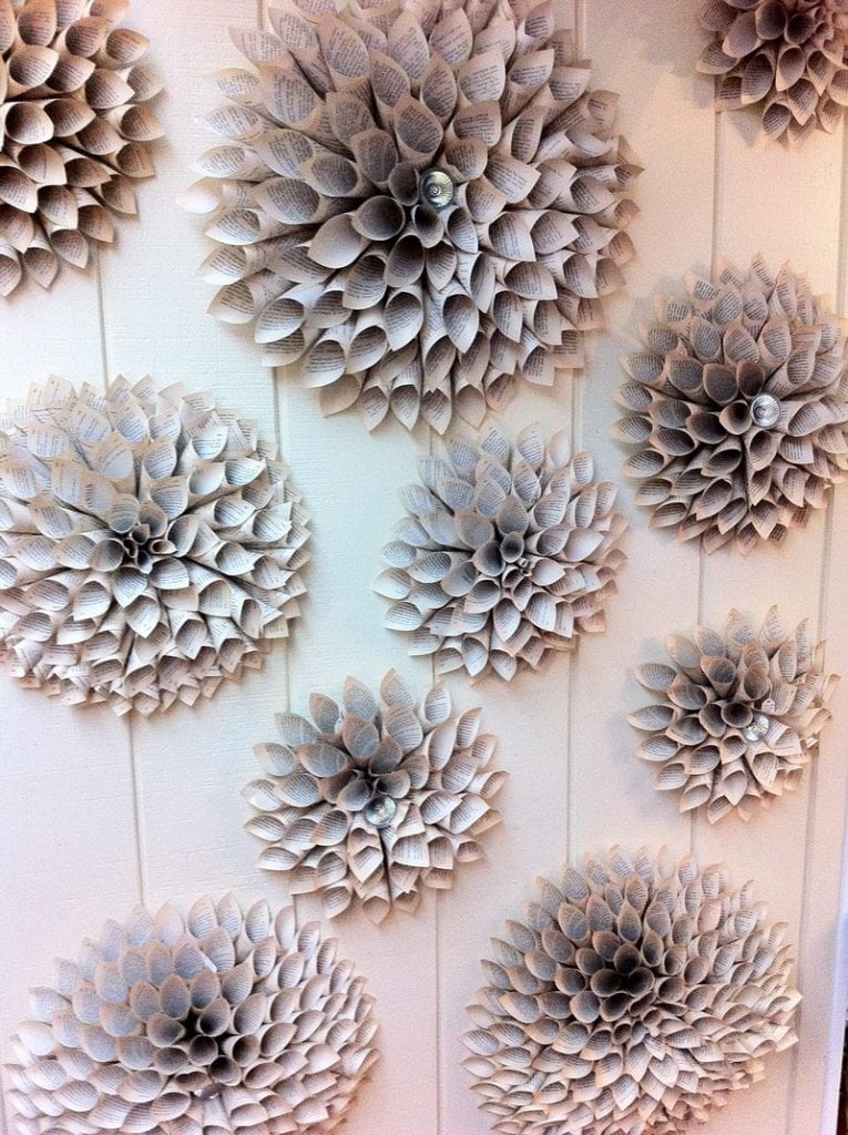 Wall Decor Paper easy paper decors to spruce up plain and boring walls
