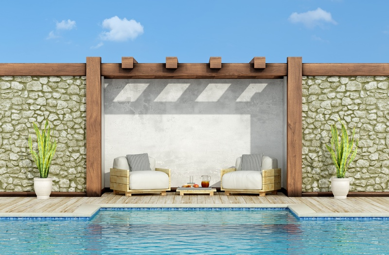 Five easy steps to a DIY refurbished swimming pool…