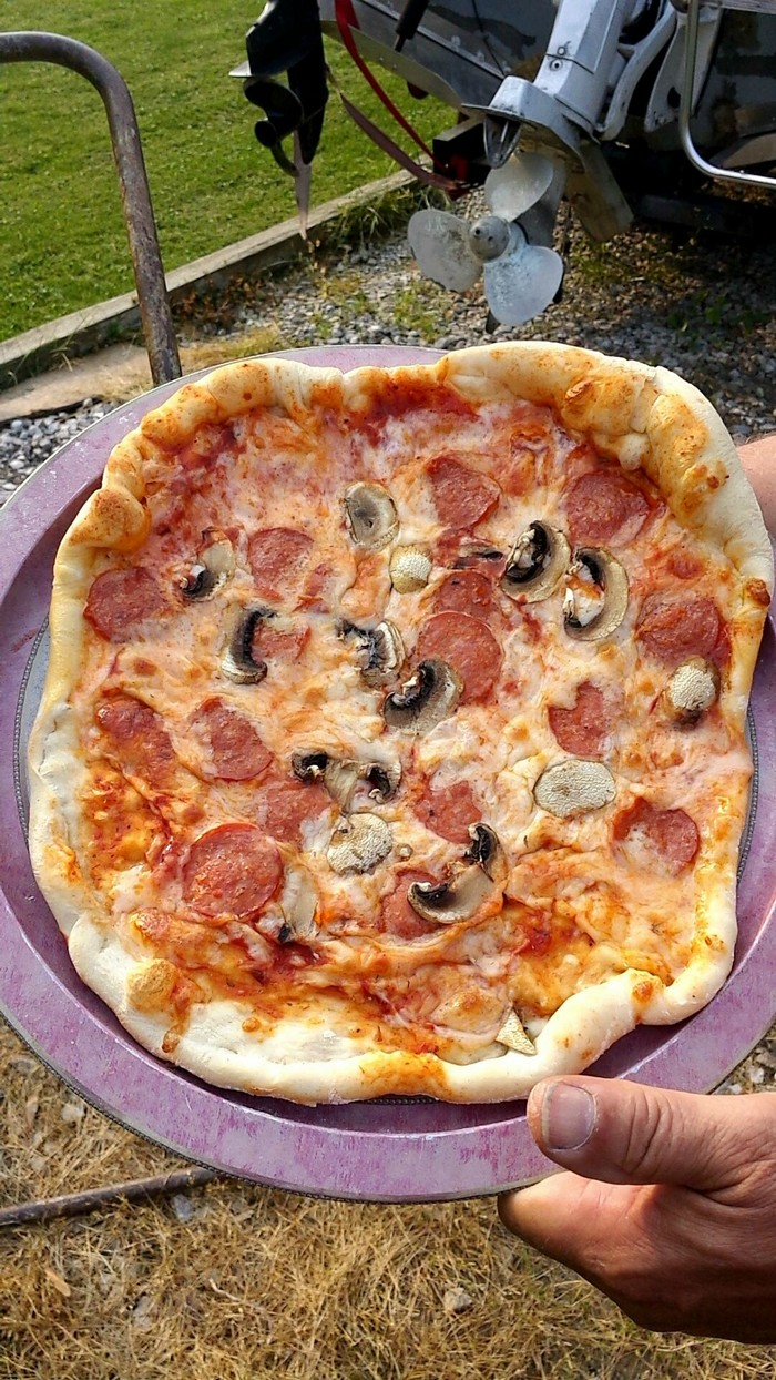 Propane Tank Pizza Oven