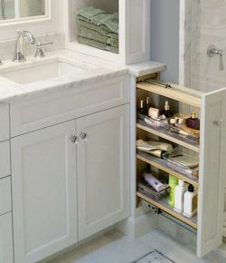 Pull-out Bathroom Storage