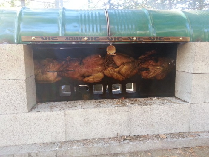 Learn How To Build A Rotisserie Bbq Pit Your Projects At Obn