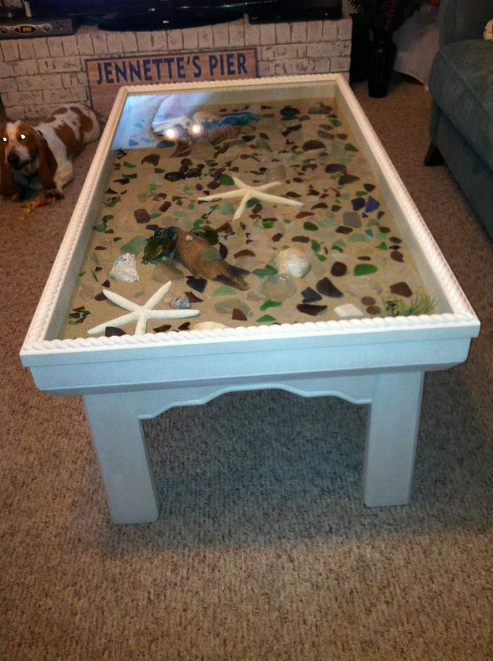 Seashell Table