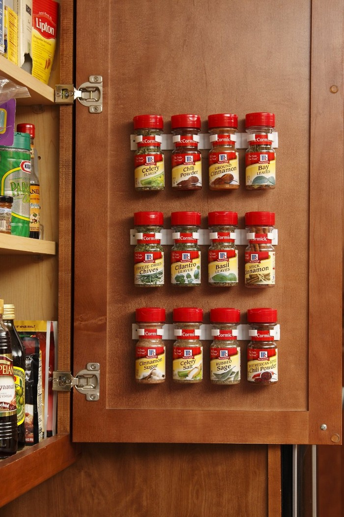 How to make a built in spice rack