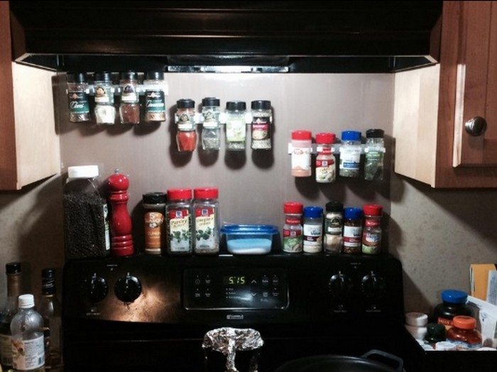 How To Make A Built In Spice Rack Diy Spice Rack