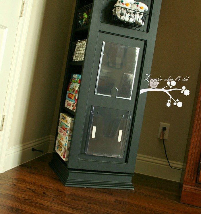 Build A Space Saving Swivel Storage Cabinet Your