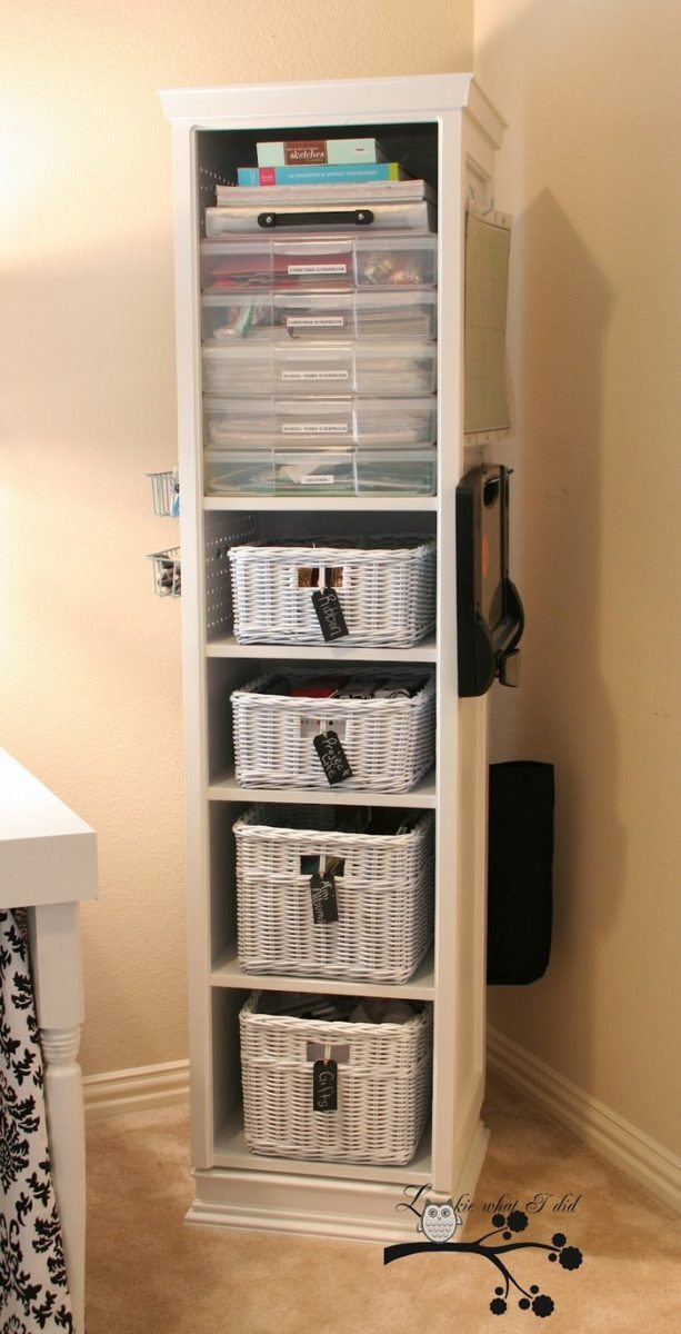 Build A Space Saving Swivel Storage Cabinet Diy Storage