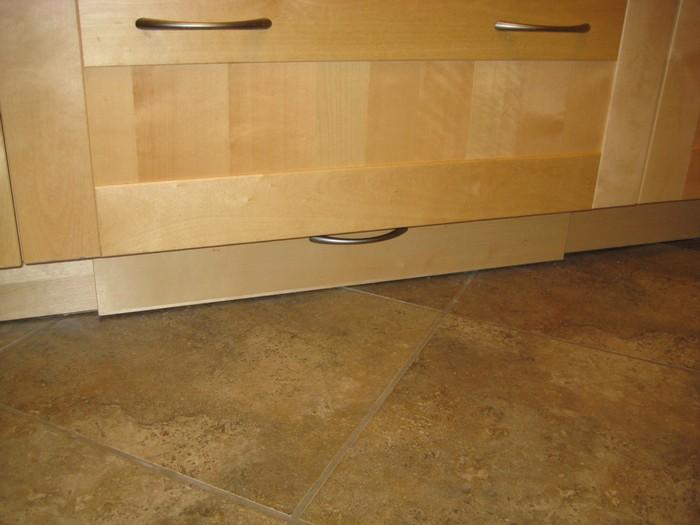 make a toe kick drawer for extra kitchen storage diy toe kick. Black Bedroom Furniture Sets. Home Design Ideas
