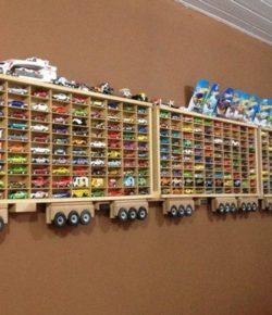 Toy Car Display Ideas