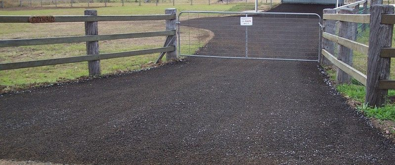 Bitumen is easily damaged and breaks down quickly. It tends to be a temporary solution to a permanent problem.