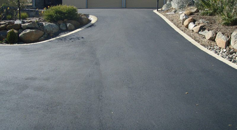 Hot Mix may be a viable solution where is offers cost savings over concrete