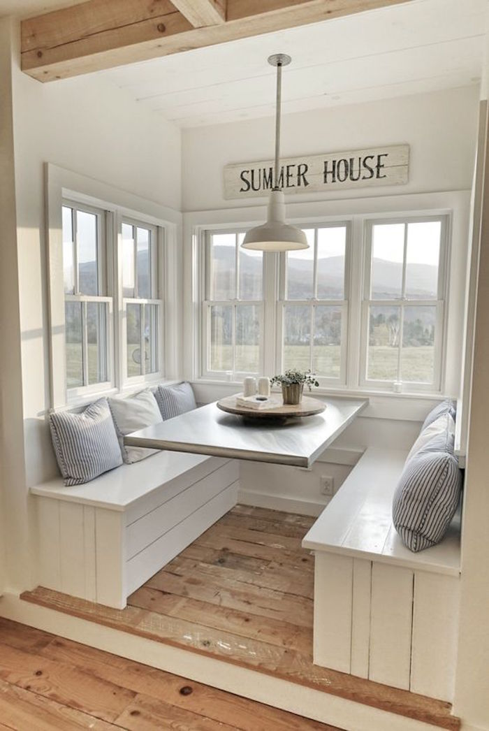 Build your own breakfast nook with storage your projects obn - What is a breakfast nook ...