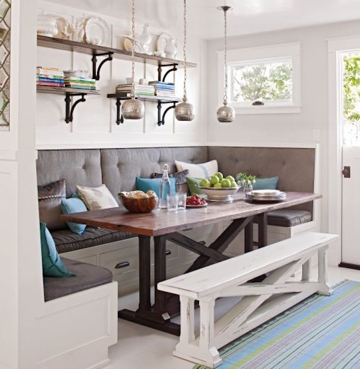 Build Your Own Breakfast Nook With Storage