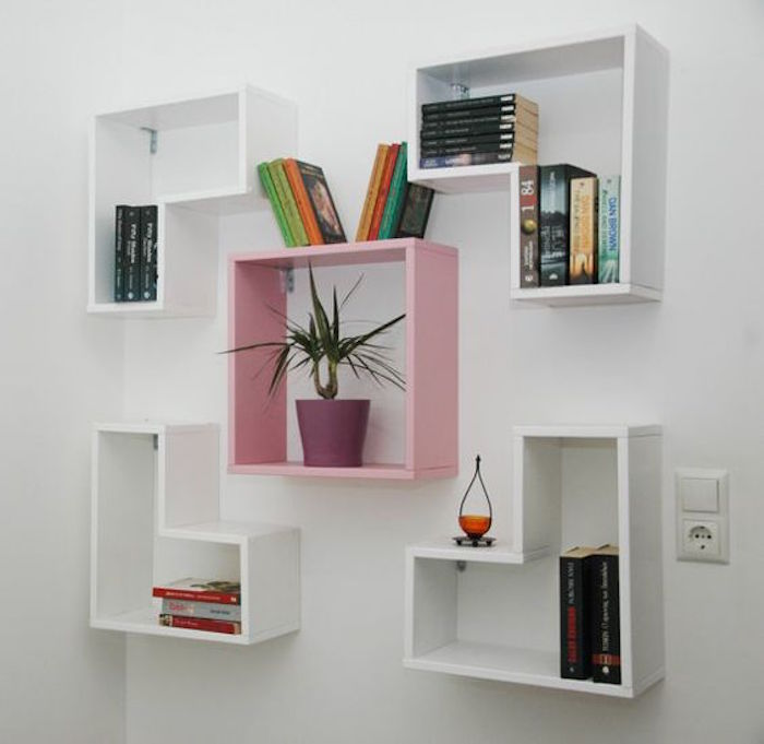 Glass Bookshelf Designs: How To Build DIY Floating Shelves