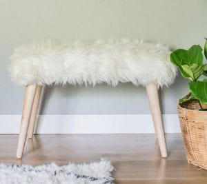 How to Make Your Own Fur Bench
