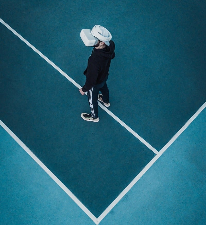 Unless you have a spare tennis court, you might need to consider trip hazards when using VR!