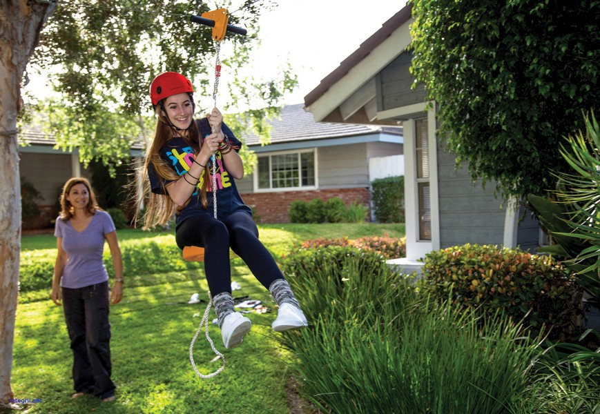 How to Build Your Own Backyard Zip Line – Your Projects@OBN