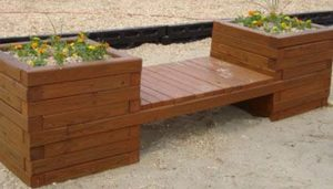 Build a Planter Bench For Your Garden