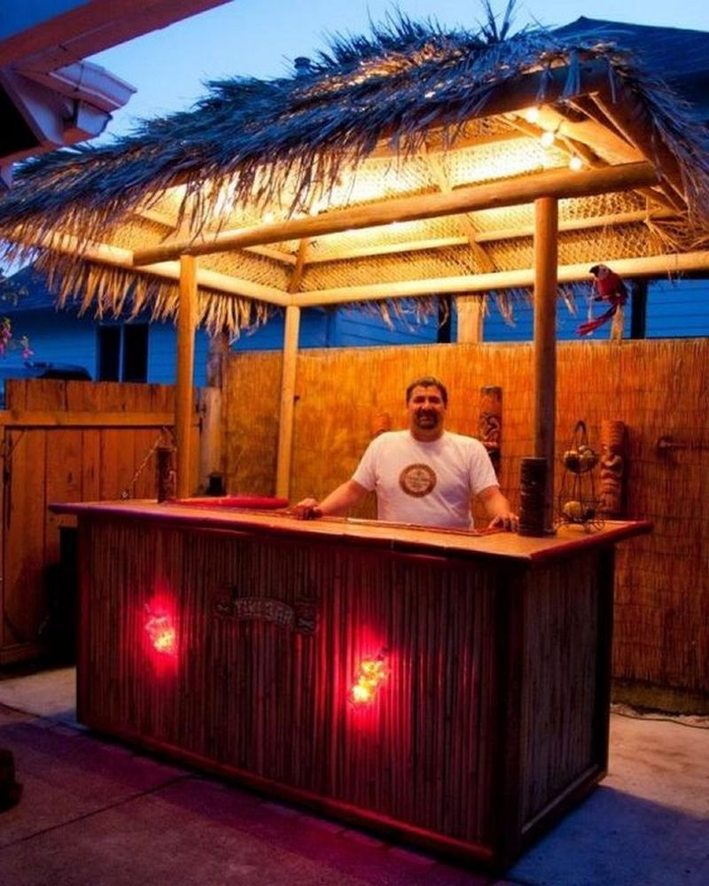 Build Your Own Backyard Tiki Bar | Your Projects@OBN on Small Backyard Bar Ideas id=94249