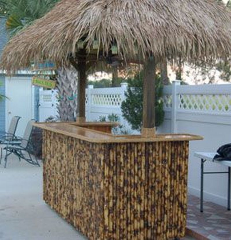 Build Your Own Backyard Tiki Bar | Your Projects@OBN on Tiki Bar Designs For Backyard id=78812