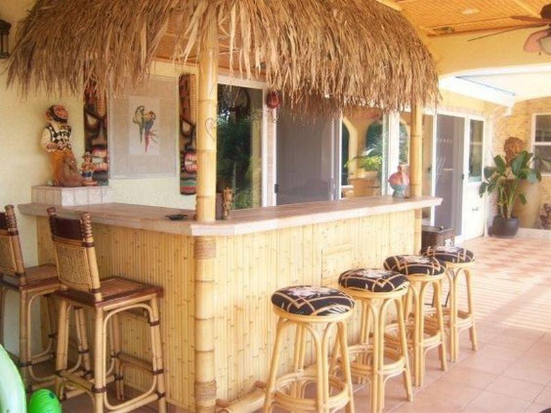Build Your Own Backyard Tiki Bar | Your Projects@OBN on Tiki Bar Designs For Backyard id=91486