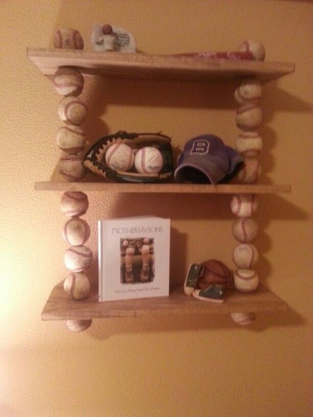 How To Build A Shelf From Baseballs Your Projects Obn