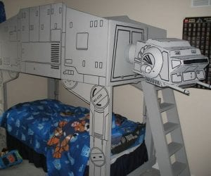 DIY Star Wars AT-AT Loft Bed
