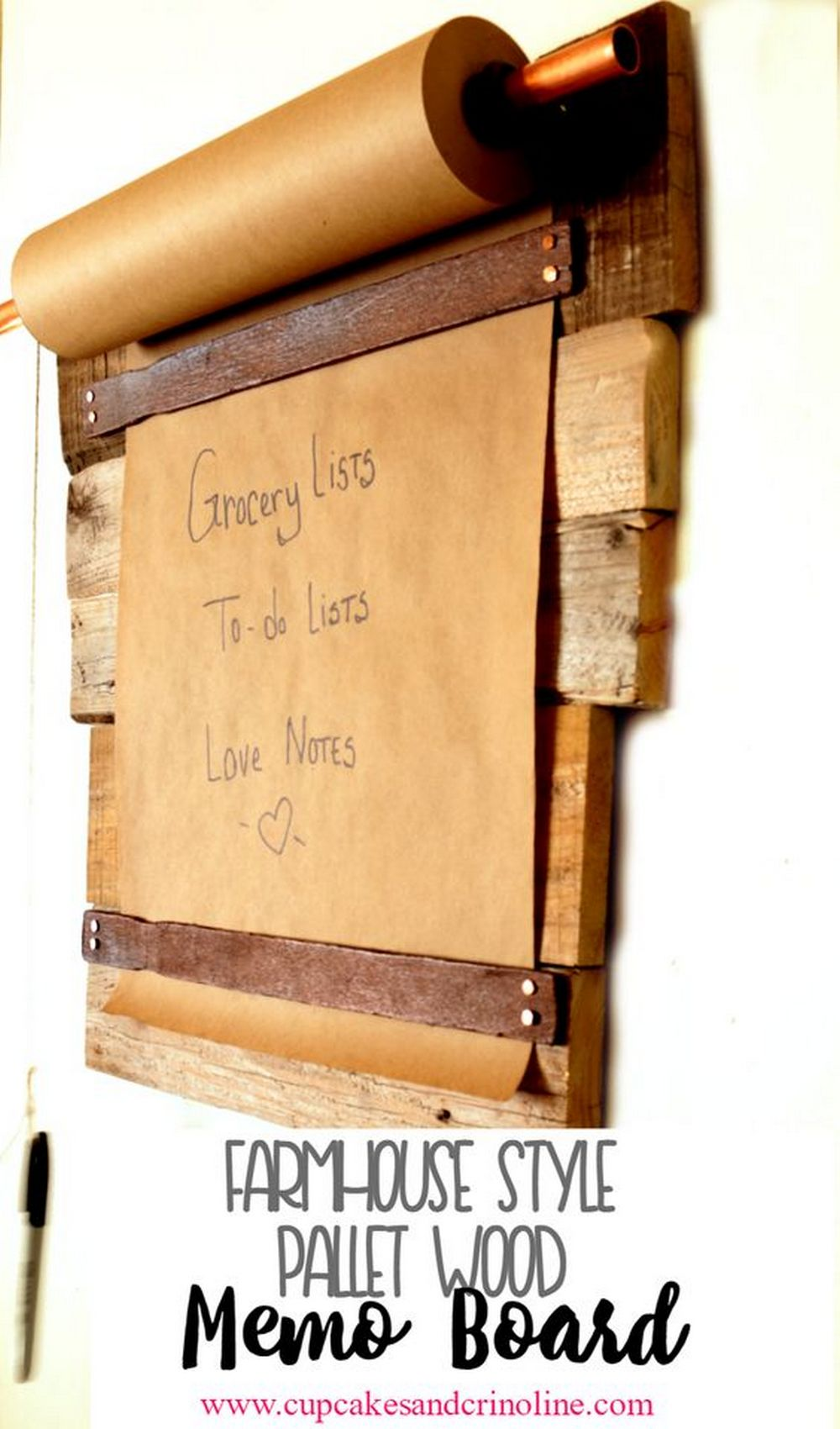 DIY Craft Paper Memo Board