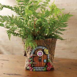 How to Make a Fairy House Planter
