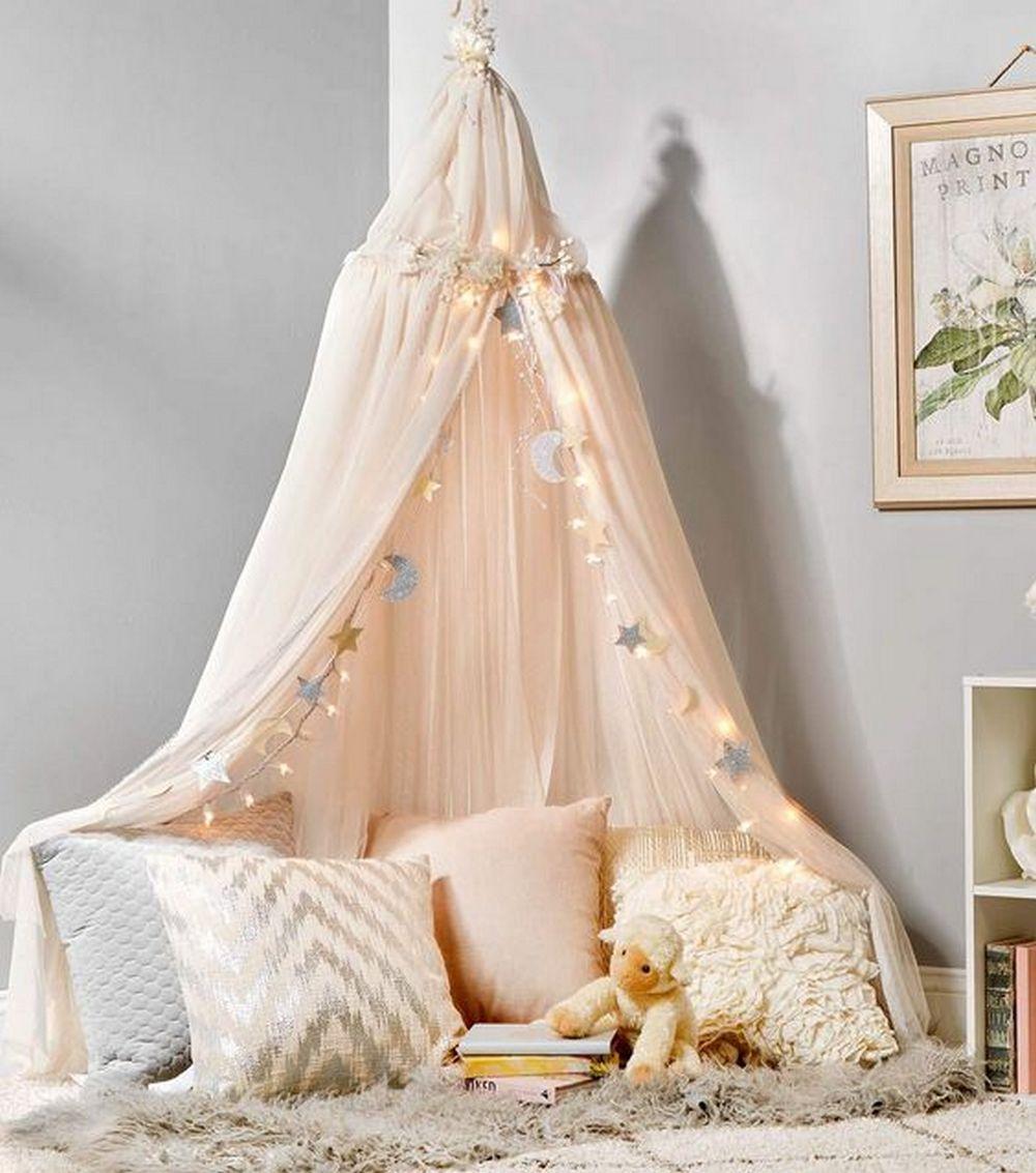 Reading Nooks Ideas: Easy DIY Canopy Reading Nook