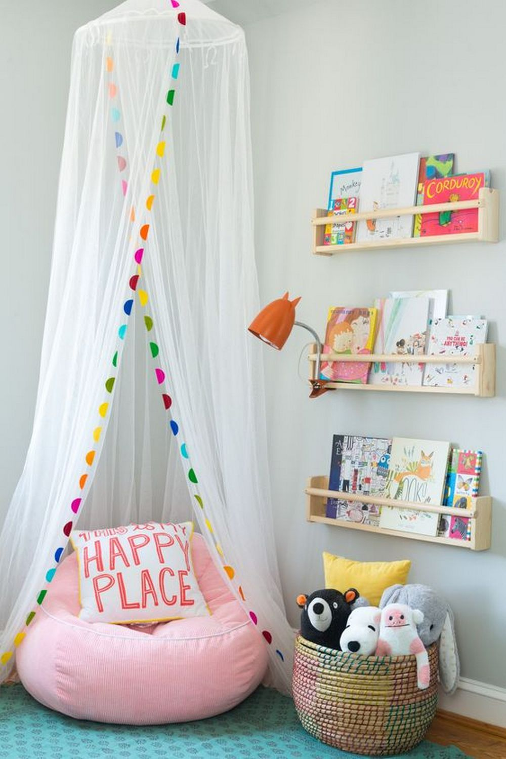 Do It Yourself Home Design: Easy DIY Canopy Reading Nook