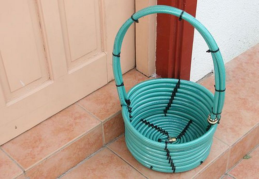 Before you throw those old garden hoses out, think again.