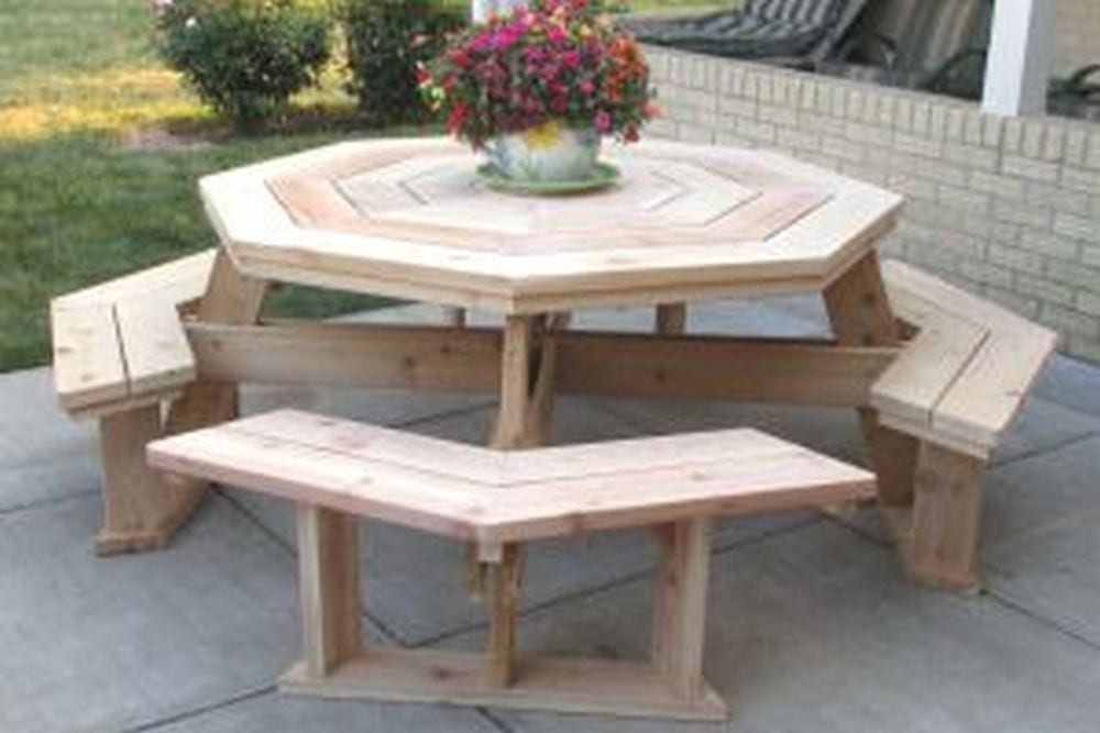 How To Build An Octagon Picnic Table Your Projects Obn