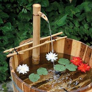 DIY Zen Bamboo Water Feature