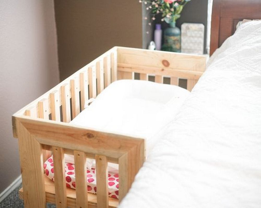 How To Build A Co Sleeper Crib Your Projects Obn