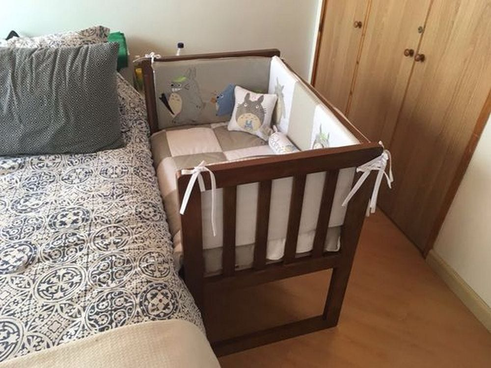 How to Build a Co-sleeper Crib
