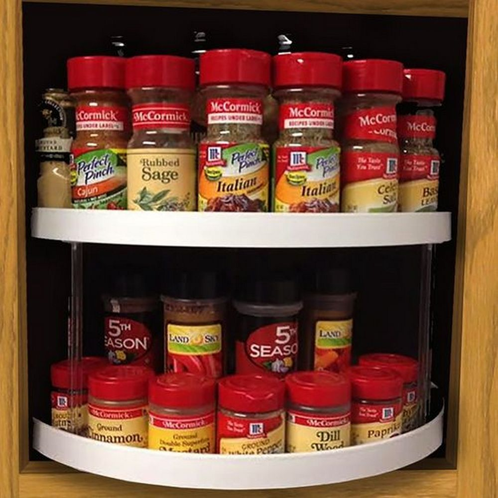 How to Build a Spinning Spice Rack