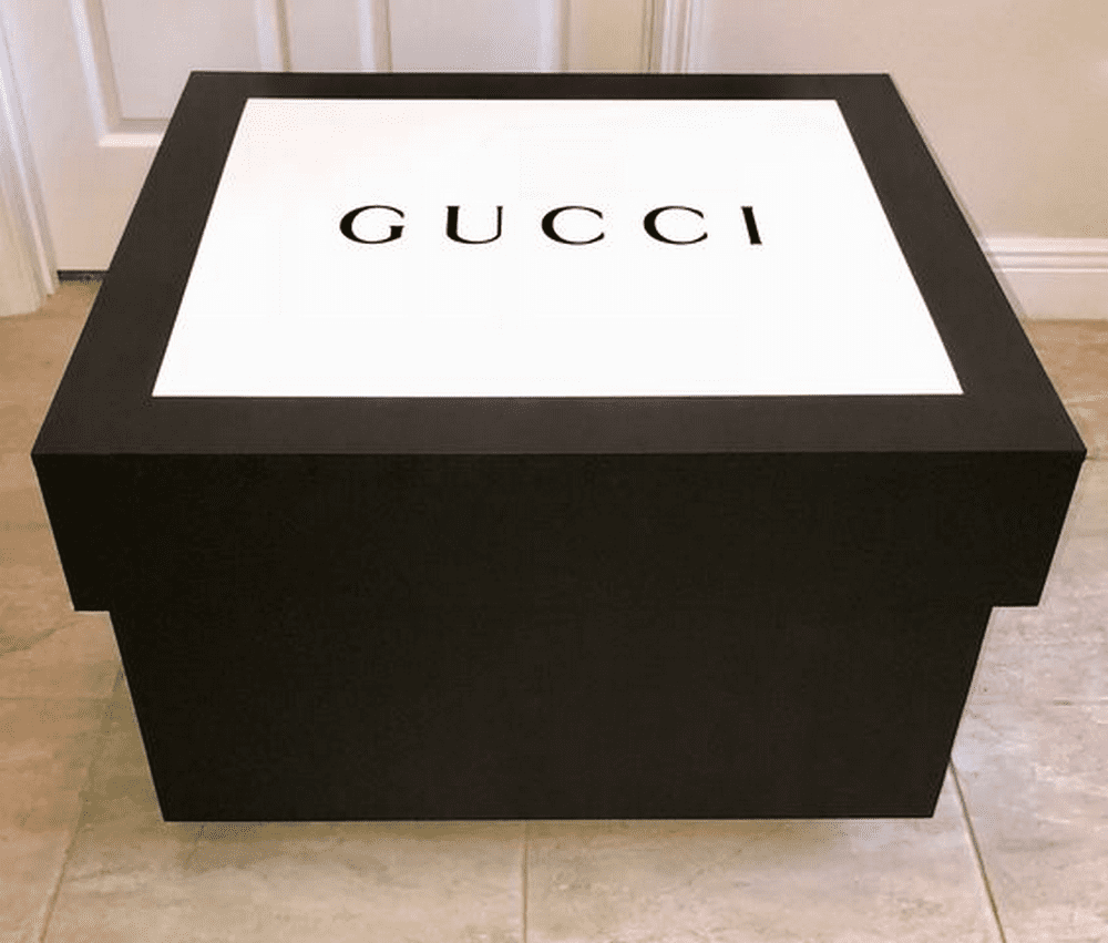 With this project, you can create a giant version of your favorite brand's shoe box.