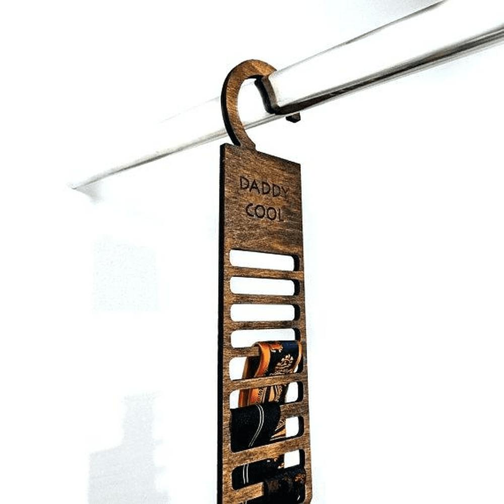 DIY Tie Rack Hanger