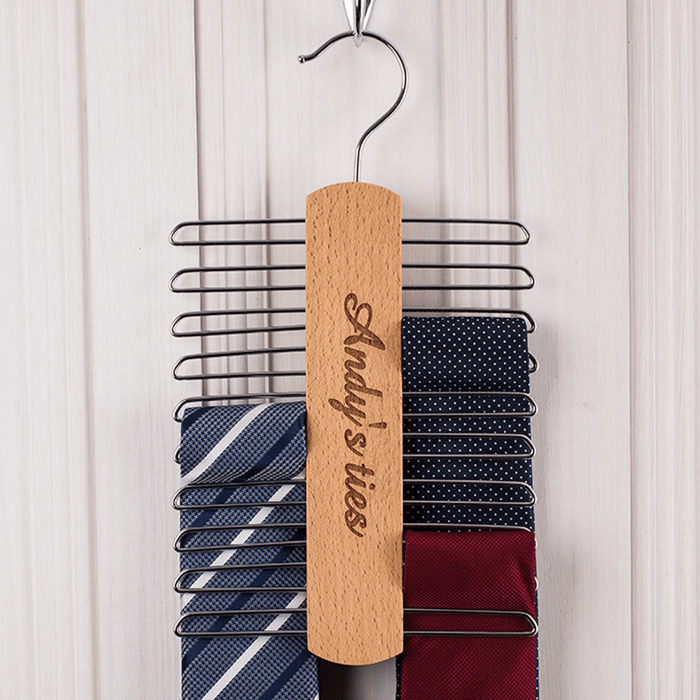 Watch The Tutorial Video Below To Learn How Make A Diy Tie Rack Hanger