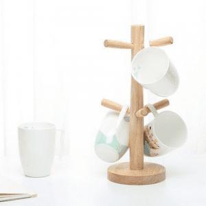 DIY Coffee Mug Tree