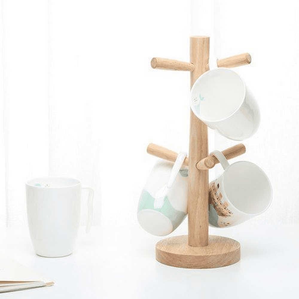 DIY Coffee Mug Tree