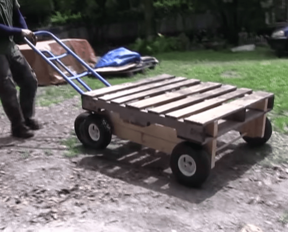 How to Build a Wagon From Pallets