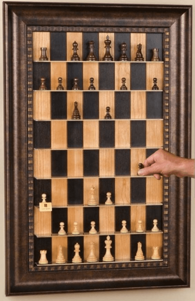 DIY Wall Chess Board