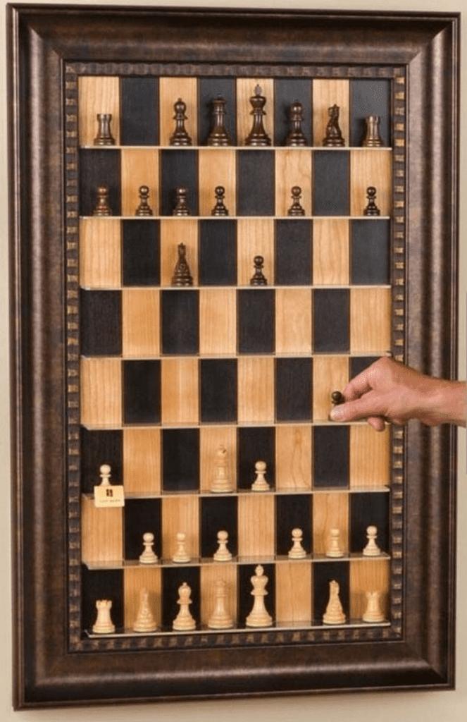 DIY Wall Chess Board