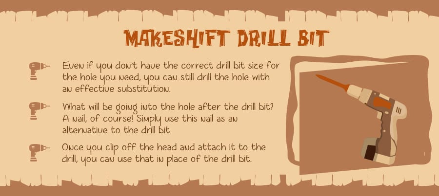 Have you ever found yourself short of the perfect sized drill bit?